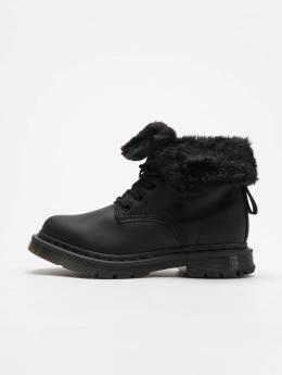 Dr. Martens Boots Kolbert Waxy Suede WP 8-Eye Snowplow zwart