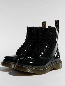 Dr. Martens | 1460 Patent 8 Eye noir Femme Chaussures montantes