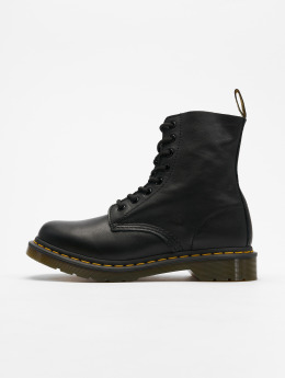 Dr. Martens Chaussures montantes Pascal Virginia 8-Eye noir