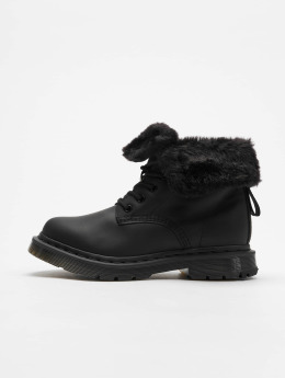 Dr. Martens Chaussures montantes Kolbert Waxy Suede WP 8-Eye Snowplow noir 4cacca91091
