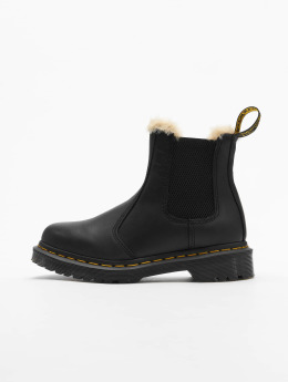 Dr. Martens Chaussures montantes Leonore Wyoming Burnished  noir