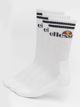Ellesse Socks 3-Pack Pullo white