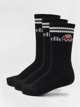Ellesse Sokken 3-Pack Pullo zwart