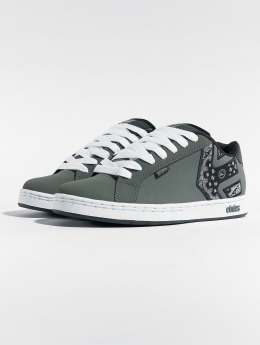 Etnies Snejkry Metal Mulisha Fader Low Top šedá
