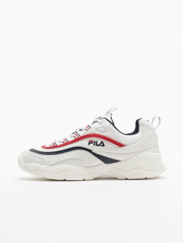 uk availability 12140 ac4fd FILA Baskets Ray Low blanc
