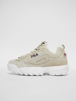 FILA Baskets Heritage Disruptor S Low gris