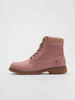 FILA Boots Base Maverick Mid rosa chiaro