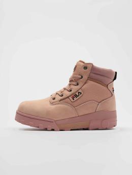 FILA Boots Heritage Grunge Mid rosa chiaro