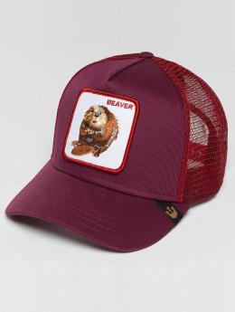 Goorin Bros. Trucker Cap Two Beavers rosso