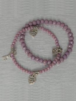 Hailys Armband Chrissy violet