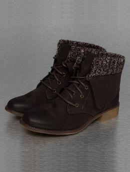 Hailys Vysoké boty / polovysoké boty Ariana hnědý