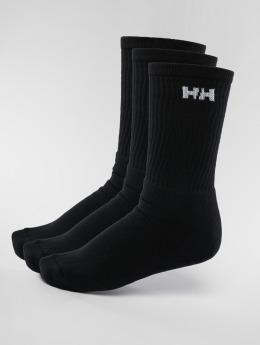 Helly Hansen Chaussettes 3-Pack Sport noir