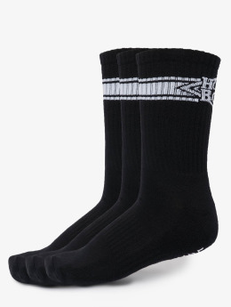 Homeboy Ponožky 3-Pack Nappo Stripe čern