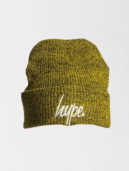 HYPE Beanie Script geel