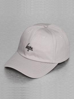 HYPE snapback cap Script Dat grijs