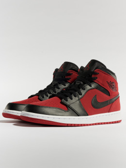 Jordan Baskets Air Jordan 1 Mid rouge