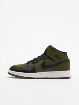 Jordan Sneakers Air Jordan 1 Mid (GS) oliwkowy