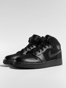 Jordan Tennarit Air Jordan 1 Mid (GS) musta