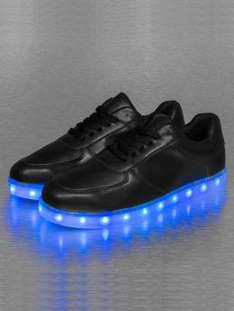 Jumex Sneakers Basic LED svart
