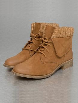 Jumex Vysoké boty / polovysoké boty Wool hnědý
