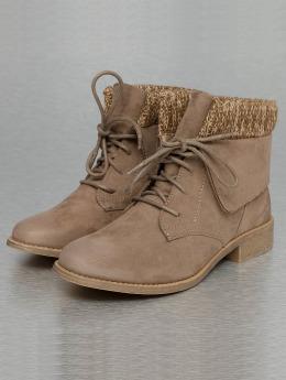 Jumex Vysoké boty / polovysoké boty Wool hnědožlutý