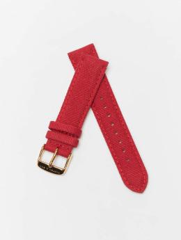 Kapten & Son armband Canvas Strap rood