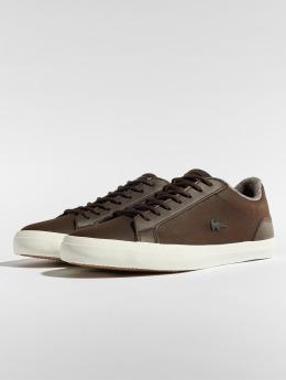 Lacoste sneaker Lerond 318 2 Cam Dk bruin