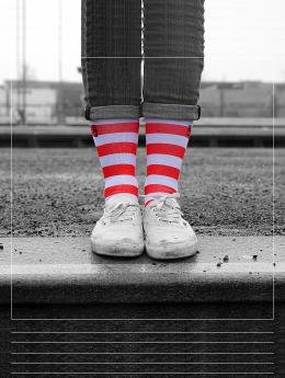 LUF SOX Socken Ronald bunt