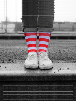 LUF SOX Sokken Ronald  bont