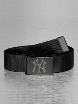 MLB Gürtel MLB NY Yankees Premium Black Woven Single schwarz