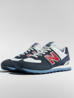 New Balance Sneaker ML574ESC blau