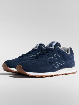 New Balance Sneaker ML574 blau