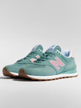 New Balance Sneaker WL574 blau