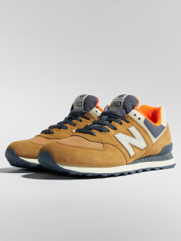 New Balance Sneakers ML574 brazowy
