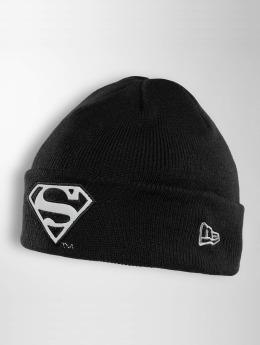 New Era Beanie Reflect Cuff Knit Superman schwarz