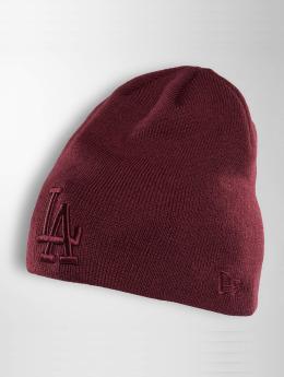 New Era Bonnet Seasonal Skull LA Dodgers rouge