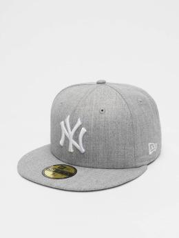 New Era Fitted Cap MLB League Basic NY Yankees 59Fifty grå