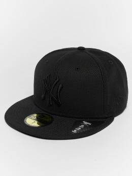 New Era Fitted Cap Diamond NY Yankees 59Fifty nero