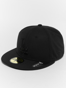 New Era Fitted Cap Diamond LA Dodgers 59Fifty schwarz