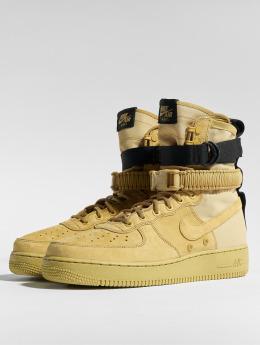Nike Сникеры SF Air Force 1 бежевый