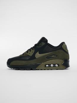 Nike Сникеры Air Max 90 Leather черный