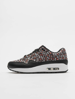 Nike Baskets Mike Air Max 1 Premium noir