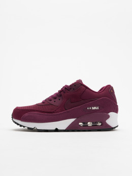 Nike Baskets Air Max 90 Leather rouge