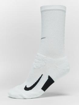 Nike Performance Calcetines Performance elite Cushioned Crew Running blanco