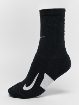 Nike Performance Chaussettes elite Cushioned Crew Running noir