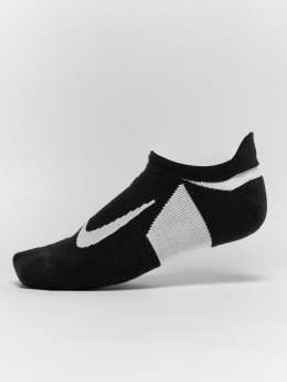 Nike Performance Chaussettes Performance Dry Elite Cushioned No Show Running noir