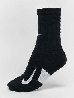 Nike Performance Ponožky elite Cushioned Crew Running èierna