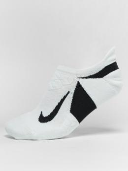 Nike Performance Ponožky Performance Dry Elite Cushioned No Show Running bílý