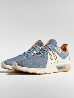 Nike Performance Snejkry Air Max Sequent 3 PRM VST modrý