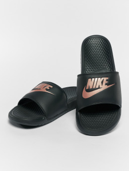 Nike Sandaler Benassi JDI svart